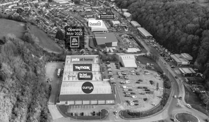 Bangor: Menai Retail Park
