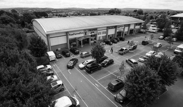 Frome: Wessex Fields Retail Park