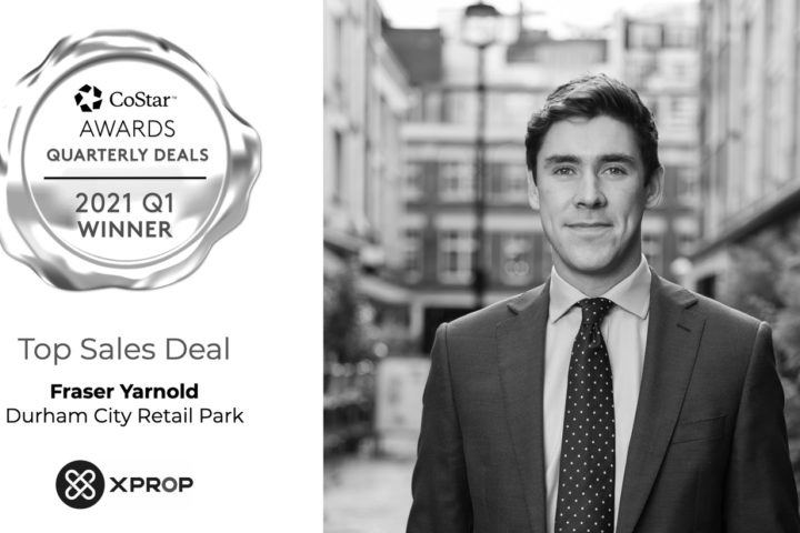 Fraser Yarnold Recognised by CoStar Awards for Top Sales Deal of Q1 2021