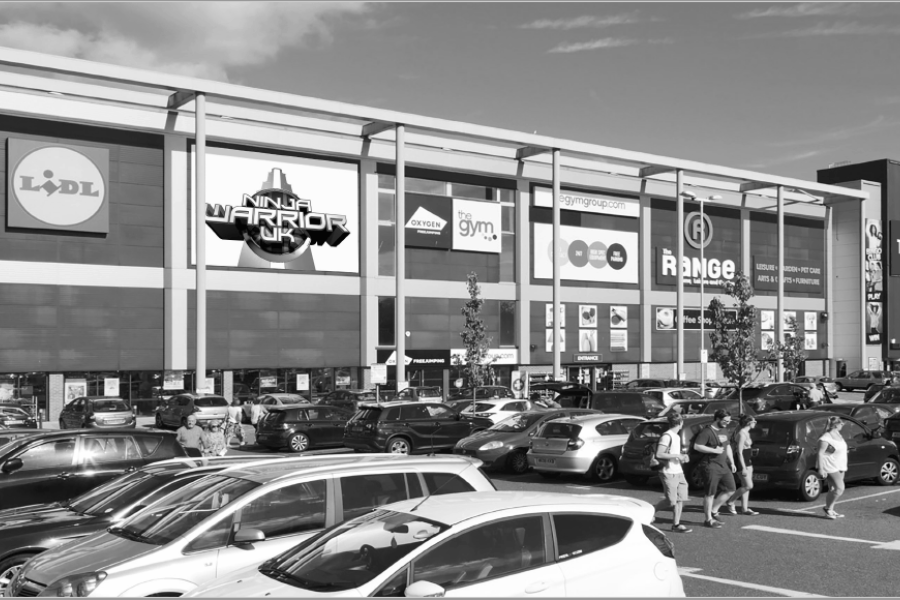 Southampton: Antelope Retail & Leisure Park – New letting to Ninja Warrior